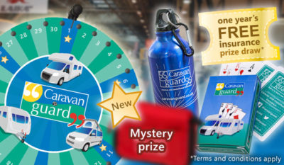 Free insurance and prizes at the 2018 Motorhome and Caravan Show thumbnail